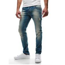 Hosengröße W38 Slim-Fit-Herrenhosen in normaler Größe