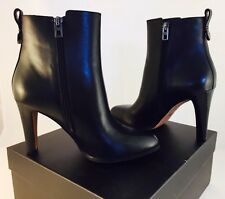 New In Box Genuine COACH Jemma Black Soft Calf Leather Boots - Size 8