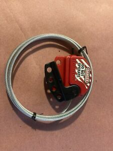MASTER LOCK S806 ADJUSTABLE CABLE LOCKOUT HASP S806