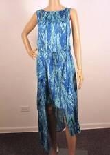 $228 NWT BCBG MAXAZRIA URIKA ASYMMETRICAL DRESS L