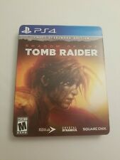 Shadow of The Tomb Raider (Croft Steelbook Edition) PlayStation 4, 2018