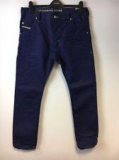 Diesel Krooley Regular Slim Carrot Fit Men's Jeans Wash 0801W W32 L32