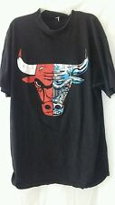 SEL CLASSIC RN138491 S/S MENS SIZE 3XL Black Red/Blue Bull Cotton