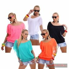 Women's Batwing, Dolman Sleeve Solid Polyester Tops & Blouses