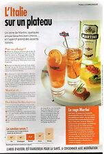Publicité Advertising 2005 Apéritif Martini