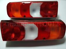 New 2x Rear Tail Lights Lamps for Mercedes Actros MP4 2013 >  LH RH Truck Lorry