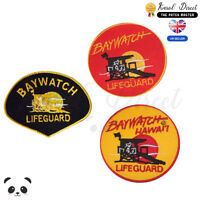Baywatch Movie Embroidered Iron On /Sew On Patch Badge For Clothes Bags etc