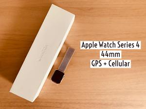Apple Watch Series 4 44mm GPS+Cellular Gold Aluminium Case Pink Sand Sport Loop