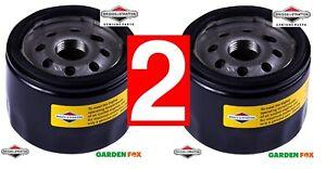 2 x Genuine Briggs & Stratton OIL FILTERS 492932 O30