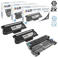 LD Compatible Brother 3PK: 2 TN780 Black Toners & 1 DR720 Drum Unit