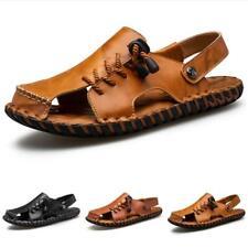 Summer Mens Beach Sandals Shoes Closed Toe Sand Walking Sports Slingbacks New D