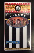 Rock And Roll Circus December 11, 1968 VHS Rolling Stones Jethro Tull The Who