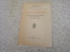 1965.Académie de Macon.Armand Duréault.Jean Michoud (envoi + 2 lettres)