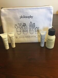 Philosophy Skin Care set with Pouch