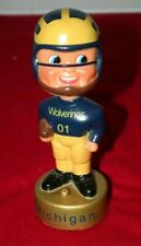 MICHIGAN WOLVERINES Bobblehead Football Player PLAYS GO BLUE Fight Song AUDIO #1
