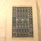 Wände  35x6cm orientalisches Dekor Zierleisten Orient Deko für Möbel Fliesen