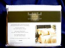 Organic 100% Bamboo Fiber Bed Sheet Set..Queen... Sand Gold..extra soft