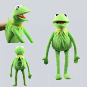Kermit the Frog Hand Puppet Soft Plush Doll Toy Kids Birthday Xmas Gift New 60cm
