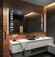 Moderne Miroir Salle De Bain Avec LED Illumination Éclairage Miroirs Muraux L38