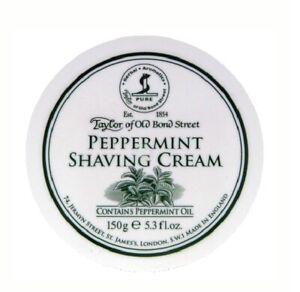 Shaving Cream Bowl - Peppermint 150GR - Taylor