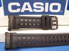 Casio Watch Band G-9000 MS-1 MudResist 3031 Military Series black Watchband-Stra