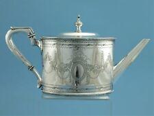 Teekanne - versilbert - Sheffield um 1880 - James Dixon - S8352