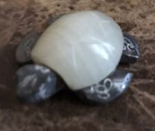 Sea Turtle Pewter with Pearl Shell Figurine