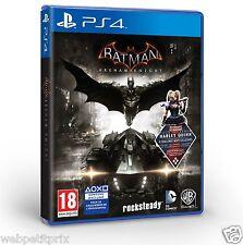 Batman Arkham Knight  VF SUPER JEUX SUPER PRIX +  DLC Harley Quinn PS4  Neuf