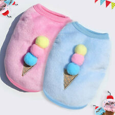 XXS XS Puppy Coat Clothes Pet Dog Cat Warm Clothing for Teacup Yorkie Chihuahua