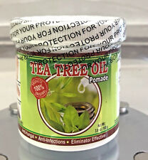 New Sealed Tea Tree Oil Pomade anti fungal anti infections eliminator effective