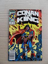 Conan The King 44 . Marvel 1988 . FN / VF