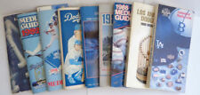 Los Angeles Dodgers Baseball Vintage Sports Media Guides