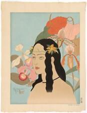 PAUL JACOULET (#25) Une Belle de Palaos. (A Beauty of Palao). Signed i... Lot 25