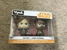 VYNL Han Solo & Lando Calrissian Brand new in box2nd class Royal Mail postage
