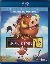 The Lion King 1 1/2 (Blu-ray + DVD, 2012, 2-Disc set, Special Edition)