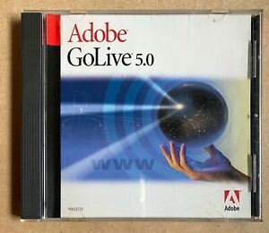 Adobe GoLive 5.0 Education Version for Macintosh MAC Serial Number FREE SHIPPING