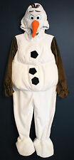 New Disney Store OLAF Frozen Plush Snowman Costume Kids S 5/6