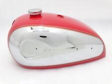 BSA A7 A1O SuperRocket chrome rouge peint réservoir d'essence avec double ligne & Cap @pumm