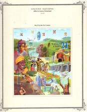 1¢ WONDER ~ UN OFFICES IN GENEVA SWITZERLAND MODERN MH ON SCOTT PAGE~V138