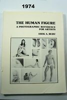 Human Figure A Photographic Reference for Artists by E. A. Ruby 1974 Nudes