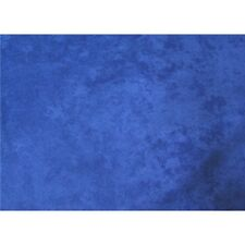 ELECTRIC BLUE UPHOLSTERY MICRO SUEDE FABRIC $9.99/YARD