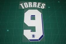 Chelsea 11/12 #9 TORRES Chaimpons League /FA Cup Final Nameset Printing