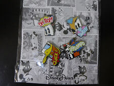 Disney Trading Pins 130823 Mickey and Friends Comic Book Booster Set