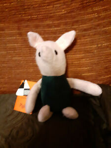 "Vintage John Adams Toys Winnie The Pooh Piglet 9"" With Tags 1981 RARE"