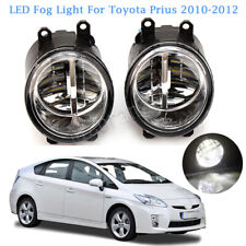 LED Fog Lights Lamp For Toyota Prius 2010-2012 Replacement Housing Assembly Pair