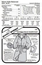 Silver Falls Raincoat #539 Sewing Pattern (Pattern Only) gp539