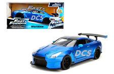 JADA FAST AND FURIOUS 2009 NISSAN GT-R R35 BEN SOPRA BLUE 1/24 DIECAST CAR 98271