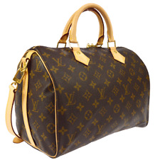 LOUIS VUITTON SPEEDY 30 BANDOULIERE 2WAY HAND BAG MONOGRAM M40391 MB0177 AK37476