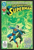 THE ADVENTURES OF SUPERMAN #500 - 9.4 NM+ 1st App STEEL & SUPERBOY FAST SHIPPING