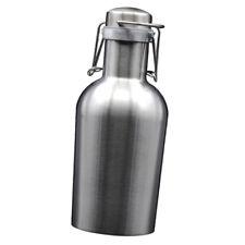 Stainless Steel Beer Keg Wine Pot Bottle 1 liter single layer Uninsulated